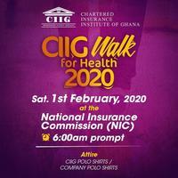CIIG Walk of Health 2020