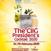 CIIG Presidents Cocktail 2020