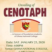 UNVEILING OF CENOTAPH - G. N. C.