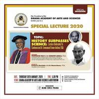 """Special Lecture 2020 """"History Surpasses Science"""""""