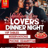 Lovers Dinner Night