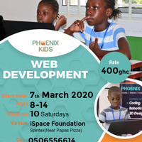Phoenix Kids Saturday Classes (Web Development Class)