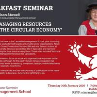 EMBA Masterclass with Dr Alison Stowell