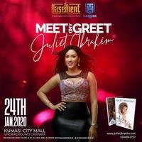 MEET AND GREET host Juliet Ibrahim