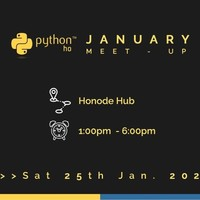Python ho January Meet-Up