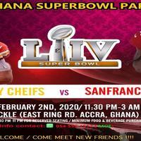 Ghana NFL Superbowl Party