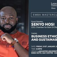 Executive MBA Masterclass with Senyo Hosi