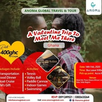 A Valentine Trip to MEET me THERE-Ghana