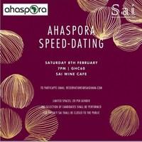 AHASPORA SPEED-DATING
