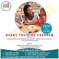 NANNY TRAINING PROGRAM