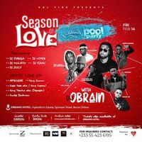 SEASON OF LOVE - Valentine's Day Pool Party with DJ OBRAIN
