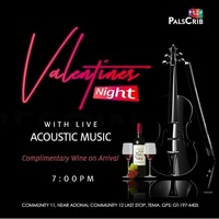 Valentine's Night With Live Acoustic Music