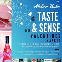 TASTE AND SENSE - Valentines Market