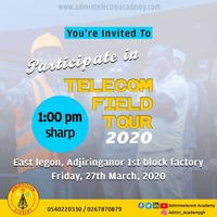 Telecom Field Tour 2020 1st edition