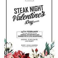 STEAK NIGHT Valentine's Day Edition