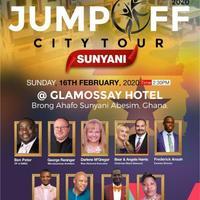 PURE  GHANA  2020 BigBang Jump Off City Tour in SUNYANI ABESIM!
