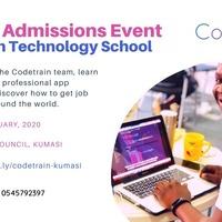 Kumasi Admissions Event: Codetrain Technology School