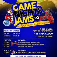 Game Night Jam's 1.0