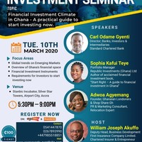 Investment Seminar - A practical guide to start investing now in Ghana
