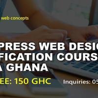 WORDPRESS WEB DESIGN CERTIFICATION COURSE ACCRA