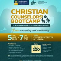 Christian Counselor's bootcamp