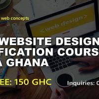 HTML WEBSITE DESIGN CERTIFICATION COURSE ACCRA