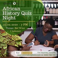 African History Quiz Night