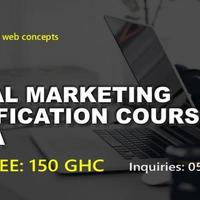 DIGITAL MARKETING CERTIFICATION COURSE ACCRA