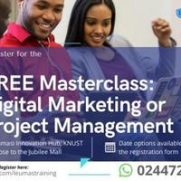 Free Digital Marketing and Project Management MasterClass