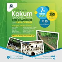 A Day Trip to Kakum National Park and Hans Cottage