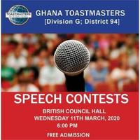Ghana Toastmasters Speech Contests