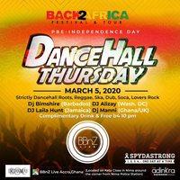 DanceHall Thursday