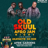 OLD SKUUL AFRO JAM NIGHT