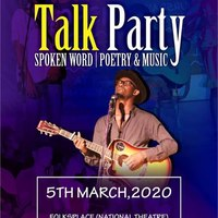 Talk Party - SPOKEN WORD, POETRY & MUSIC