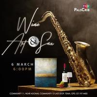 Wine, Art & Sax