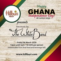 Live music at Hillburi by The White Band