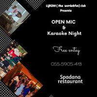 Open Mic & Karaoke Night