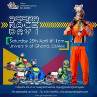 ACCRA RACE DAY 1 - (GHANA GRAND PRIX LEAGUE 2020)