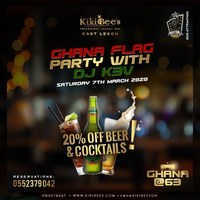 GHANA FLAG PARTY WITH DJ KBV