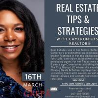 REAL ESTATE TIPS AND STRATEGIES WITH CAMERON KYSER