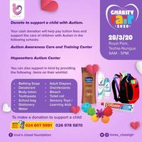 Love's Closet Charity Fair 2020