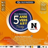 OLD PADDIES 5 YEARS ANNIVERSARY Party