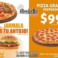 Gran inauguración de Alonbella pizza