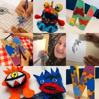 Little Monsters Art Classes Ages 5-10yrs