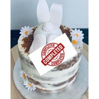Le nude cake de Pâques