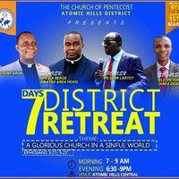 7 DAYS DISTRICT RETREAT