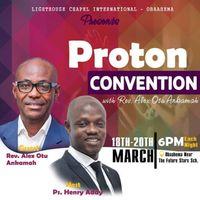 Proton Convention - 2020