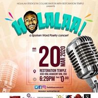 HOLALAA! a SpokenWord Poetry Concert