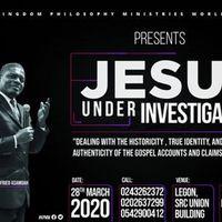 Jesus Under Investigation