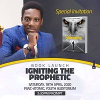 BOOK LAUNCH: Igniting The Prophetic
